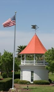 Cupola Fortunato Park Ormond Beach Florida Flagler